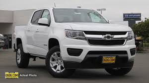 New 2019 Chevrolet Colorado 2WD LT Crew Cab Pickup In Vallejo ...