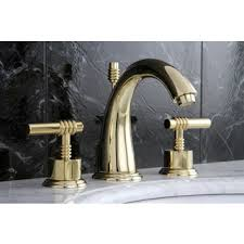 Delta Lahara Faucet Champagne Bronze by Delta Lahara Double Handle Widespread Lavatory Faucet In Champagne