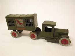 100 Structo Toy Truck Lot 1920s S Airpilot Mail Delivery Truck With Trailer