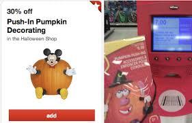 Pumpkin Push Ins by Target U2013 30 Off Push In Pumpkin Decorating 40 Off Trick Or