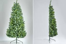 Half Christmas Tree Prelit Lit Led