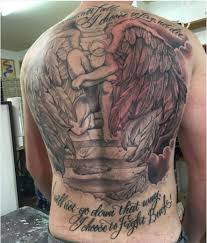 50 Aneglic Heaven Tattoos Ideas And Designs 2018