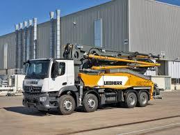 100 Concrete Pump Trucks Liebherr To Reveal Revamped 42m Powerbloc Concrete Pump At Bauma