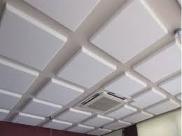 Soundproof Above Drop Ceiling by 15 Soundproof Drop Ceiling Tiles Acoustic Material For