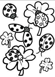 Coloring Pages Ladybugs Printable Ladybug Birthday Of To Print