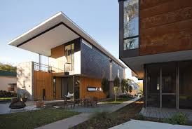 100 Modern Housing Architecture Compact Duo The Raleigh Co ArchDaily