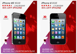 Virgin Mobile taking 15% off prepaid iPhone 4 and 4S