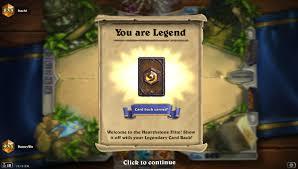 Warlock Deck Hearthstone Frozen Throne by Legend Mech Shaman 100 Win Rate From Rank 3 To Legend