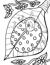 Ants Ladybug Coloring Page Animal Pages Insect Free Printable Girl And The Bug Squad