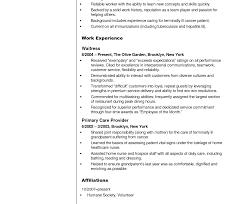 Resume Templates Sample For Cna Stirring Certified Nursing Assistant