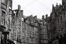 100 Edinburgh Architecture Cockburn Street 35mm Photos
