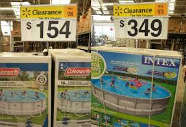 Clearance Save Over 100 On Above Ground Pools At Walmart