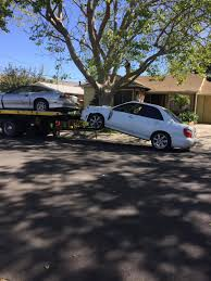 My Car Was Towed Like This While I Was Away From Home. Tow Truck ...