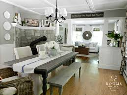 Paint Color For A Living Room Dining by Coordinating Paint Colors City Farmhouse