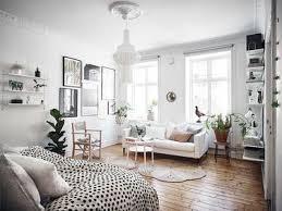 A Beautiful Plant Filled Studio Apartment Gravity Home Nordic Interior DesignStudio