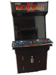 Mortal Kombat Arcade Cabinet Specs by Arcade Rewind 2019 In 1 Upright Arcade Machine Mortal Kombat 2