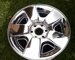 100 Oem Chevy Truck Wheels 20 OEM Silverado Chrome Clad Wheel