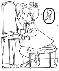 Vintage Coloring Book Pages Use As Embroidery Outlines More Images On Flicker Acct