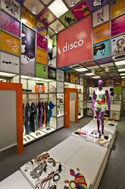 Hanging Product Display At Innovative Store Concept Interior Design Disco Experience