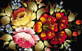 Flowers Abstract Graphic Design