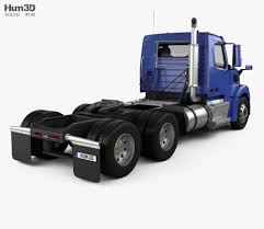 100 Truck And Tractor Pulling Games Volvo VNL VT64T 800 Day Cab 2007 3d Model