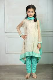 Maria B Fancy Kids Dresses Designs For Girls 2016 2017 Latest Collection 11