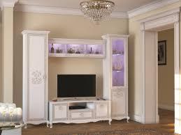 klassische wohnwand valentina weiß italien barock