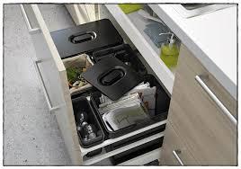 poubelle de cuisine coulissante monobac poubelle cuisine ikea idées de décoration à la maison