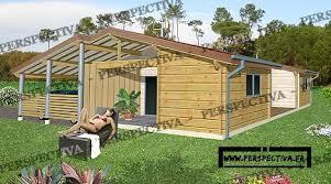 plan maison en bois gratuit maison en bois pas chère plan et exemples