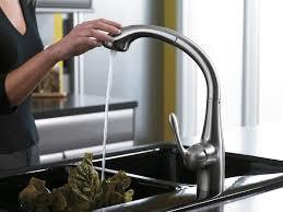 hansgrohe kitchen faucets allegro e allegro e 2 spray semiarc