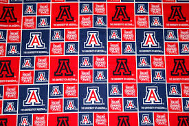 University Of Arizona 1/2 Yard Continuous Piece, College Fabrics ... Fabric For Boys At Fabriccom Firehouse Friends Engine No 9 Cream From Fabricdotcom Designed By Amazoncom Despicable Me Minion Anti Pill Premium Fleece 60 Crafty Cuts 15 Yards Princess Blossom We Cannot Forget Our Monster Truck Fabric Showing The F150 As It Windham Designer Fabrics Creativity Kids Deluxe Easy Weave Blanket Ford Mustang Fleece Fabric Blanket