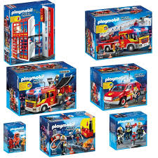 100 Playmobil Fire Truck PLAYMOBIL City Action Brigade Complete Set 5361 5362 5363 5364