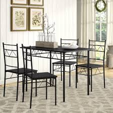 Helfer 5 Piece Breakfast Nook Dining Set By August Grove Coupon