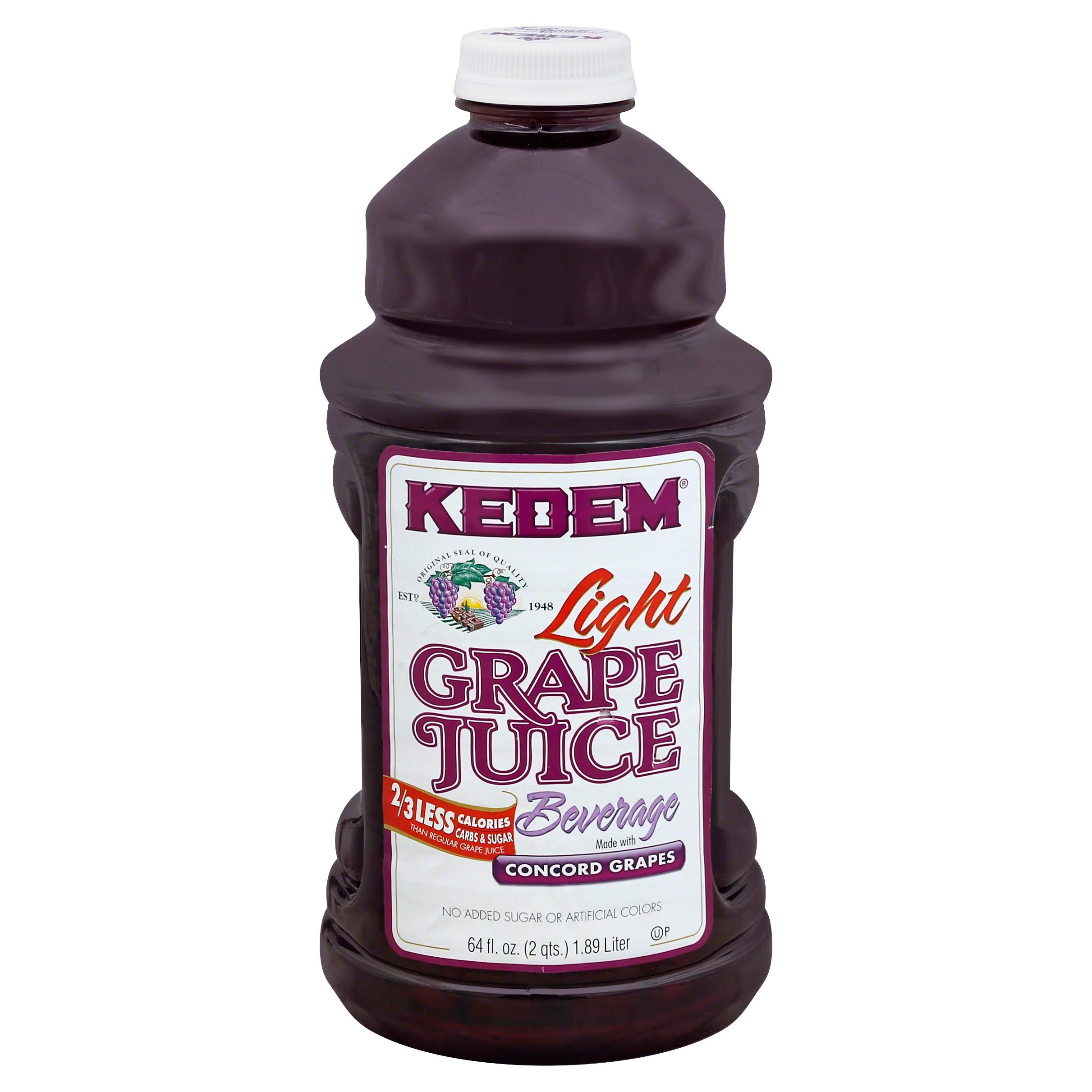 Kedem Lite Concord Grape Juice - 64oz