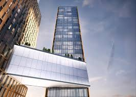 100 Sky House Nyc Bridge With A Pool Will Link Pair Of Manhattan Towers By SHoP