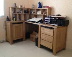 bureau contemporain bois massif divers meubles et arts liffolois