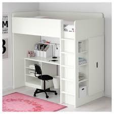 Ikea Stora Loft Bed by Stuva Loft Bed With 2 Shelves 2 Doors White Ikea