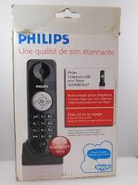 skype de bureau philips skype travel telephone voip080 ib 37 usb skype conference