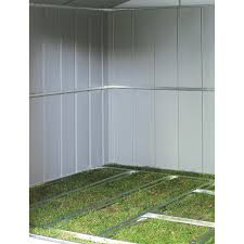 arrow galvanized steel storage shed 10x8 arrow shed floor frame kit for ds108 or cam108 hayneedle