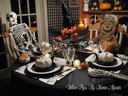 Tj Maxx Halloween Stuff by When Pigs Fly Home Again Halloween Tablescape Past