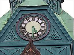 Old Post fice Clock Amherst NS Town Clocks on Waymarking