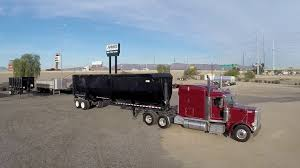 100 End Dump Truck Used 2018 CPS High Side Trailer YouTube