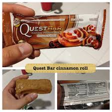 Quest Bar Cinnamon Roll Review