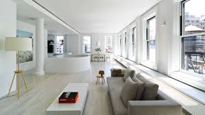 100 Nyc Duplex Apartments White And Bright In The Sky Pleases With Pops Of Color