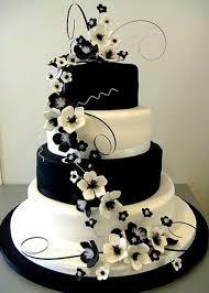 Best 25 Black wedding cakes ideas on Pinterest 945