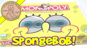 SpongeBob SquarePants Edition Monopoly Board Game 2005 Hasbro