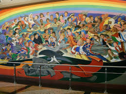 denver airport coffin murals denver international airport