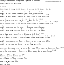 Jefferson Airplane – Today Lyrics