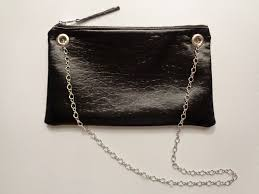 clutch with detachable chain strap weallsew