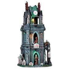 Lemax Halloween Village 2017 by The Bloody Belfry